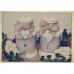 Mother Of The Bride & Groom Churns